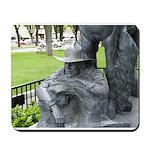 Prescott Cowboy Statue Mousepad