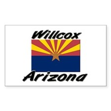 Willcox Arizona Rectangle Decal