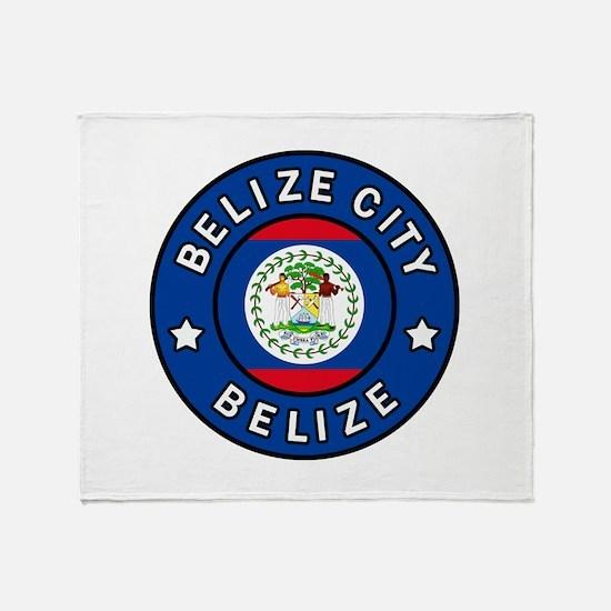 Belize City Throw Blanket