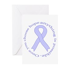 Periwinkle Hope Greeting Cards (Pk of 20)