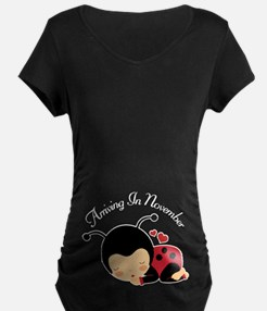 November Due Date Pregnancy Maternity T-Shirt