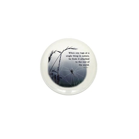 Web of Life Mini Button (10 pack)