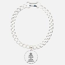 Keep Calm and Love ANNIK Bracelet