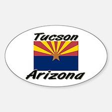 Tucson Arizona Oval Decal