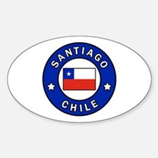 Cute Chilean Sticker (Oval)