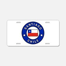 Santiago Chile Aluminum License Plate