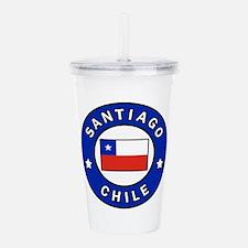 Santiago Chile Acrylic Double-wall Tumbler