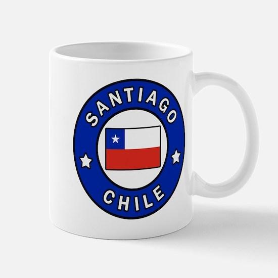 Santiago Chile Mugs