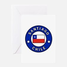 Santiago Chile Greeting Cards