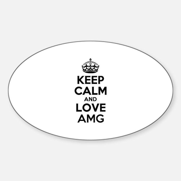 Keep Calm and Love AMG Decal