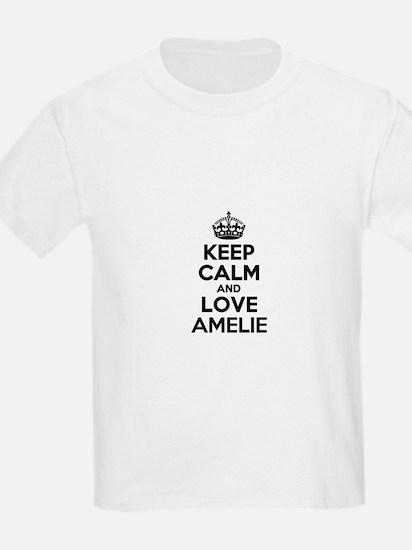 Keep Calm and Love AMELIE T-Shirt