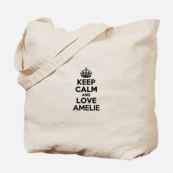 Keep Calm and Love AMELIE Tote Bag
