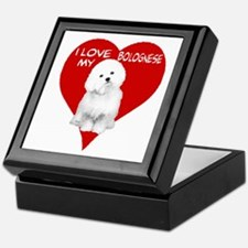 Cute Bolognese Keepsake Box