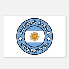 Buenos Aires Argentina Postcards (Package of 8)
