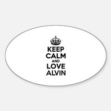 Keep Calm and Love ALVIN Decal