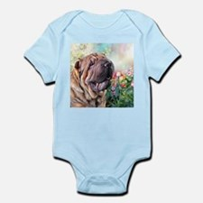 Shar Pei Painting Body Suit