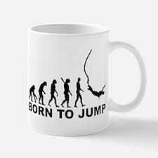 Evolution bungee jumping Mug