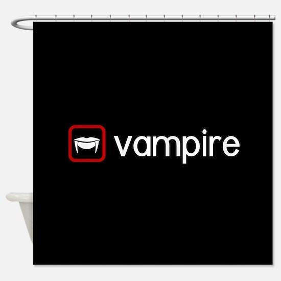 Vampire (Blood Red) Shower Curtain