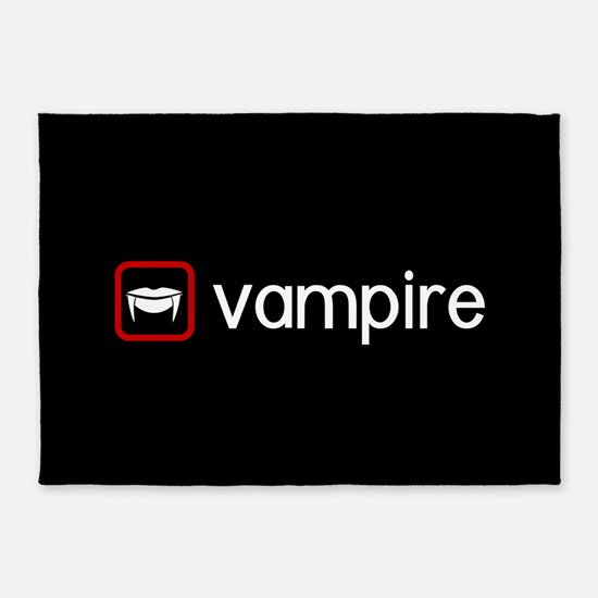 Vampire (Blood Red) 5'x7'Area Rug