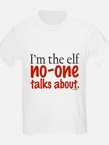 No Talk Elf T-Shirt