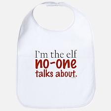 No Talk Elf Bib