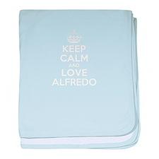 Keep Calm and Love ALFREDO baby blanket
