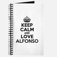 Keep Calm and Love ALFONSO Journal
