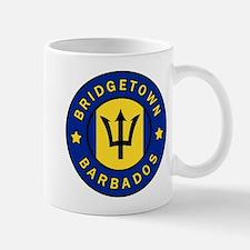 Bridgetown Barbados Mugs