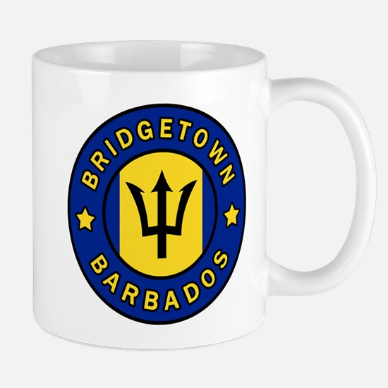 Bridgetown Barbados Mugs