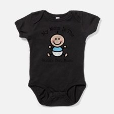 Unique Stick figure Baby Bodysuit