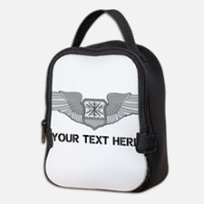 PERSONALIZED NAVIGATOR WINGS Neoprene Lunch Bag
