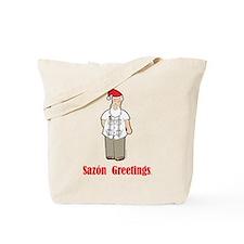 Cuban Santa Tote Bag