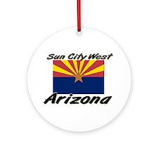 Sun City West Arizona Ornament (Round)