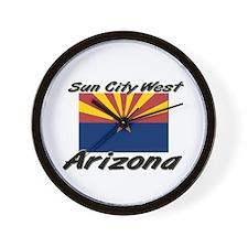 Sun City West Arizona Wall Clock