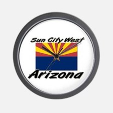 Sun City West Arizona Wall Clock