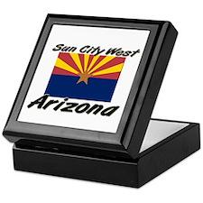 Sun City West Arizona Keepsake Box