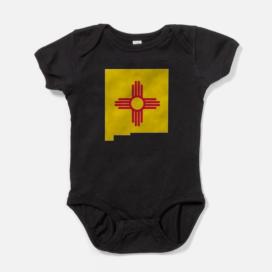 Funny Mexico flag Baby Bodysuit