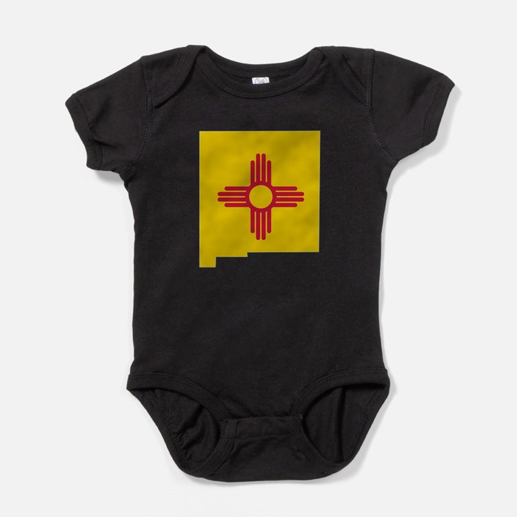 Cute New mexico Baby Bodysuit