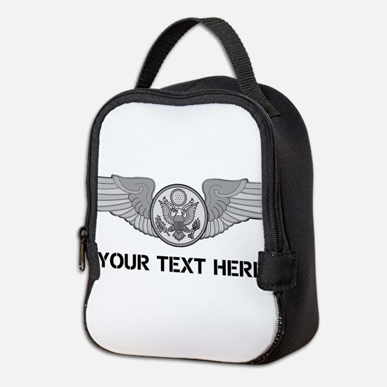 PERSONALIZED ENLISTED AIRCREW W Neoprene Lunch Bag