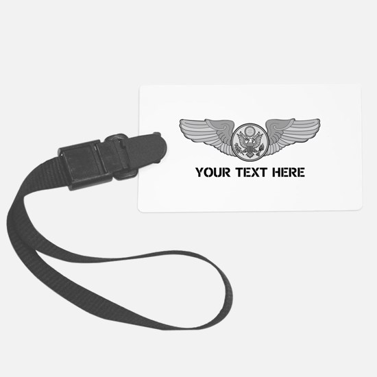 PERSONALIZED ENLISTED AIRCREW WI Large Luggage Tag