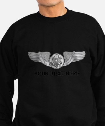 PERSONALIZED ENLISTED AIRCREW WI Sweatshirt (dark)