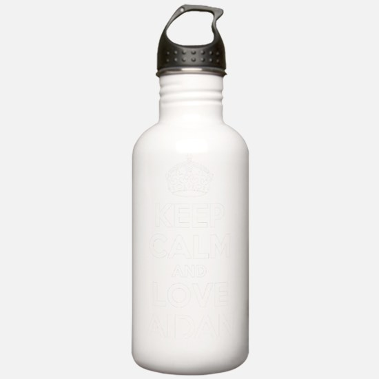 Keep Calm and Love AID Water Bottle