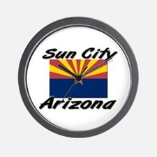 Sun City Arizona Wall Clock