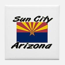 Sun City Arizona Tile Coaster