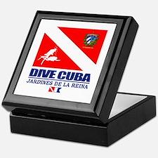 Dive Cuba Keepsake Box