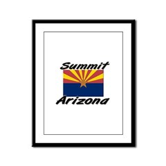 Summit Arizona Framed Panel Print