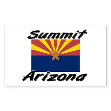 Summit Arizona Rectangle Sticker