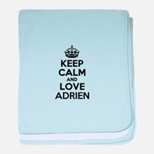 Keep Calm and Love ADRIEN baby blanket