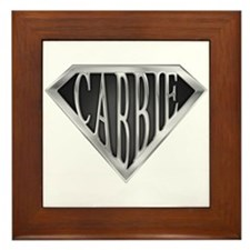SuperCabbie(metal)  Framed Tile