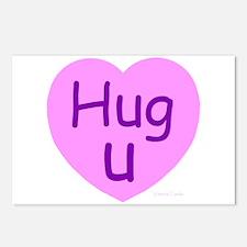 Hug U Candy! Postcards (Package of 8)